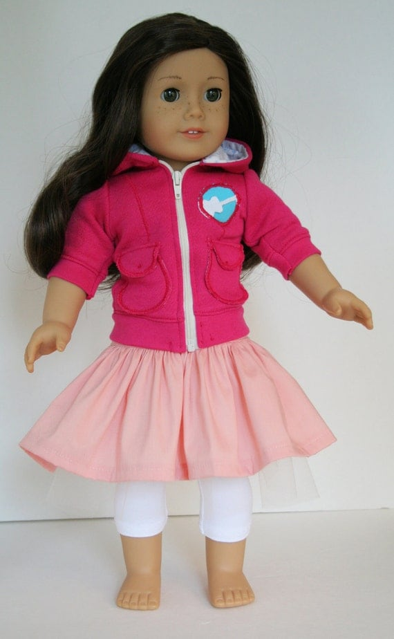 RESERVED Listing for MM: Fresh Beat Band - Kiki's Outfit for American Girl Dolls