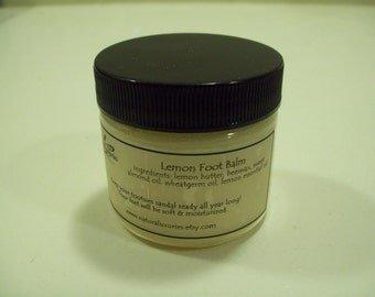 Lemon Foot Balm  2 oz.