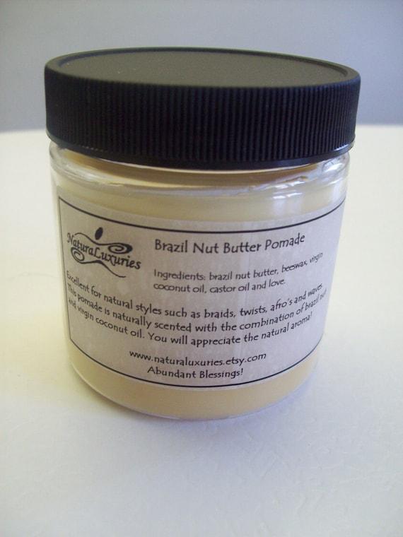 Brazil Nut Butter Pomade 4 oz.