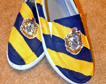 Customized Harry Potter Vans