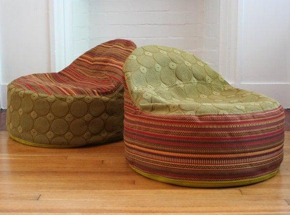 modern kids bean bag chair cover