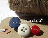 20% OFF -  Jubilee Vintage Button Brooch