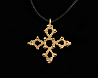 Viking Cross Shaped Pendant, 12th cent.