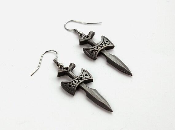 Amulet of Talos Earrings
