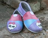 Monster High theme shoes