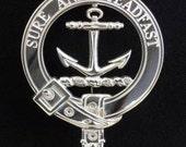 Clark Scottish Clan Crest Badge (I)