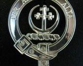 Hanna Scottish Clan Crest Badge