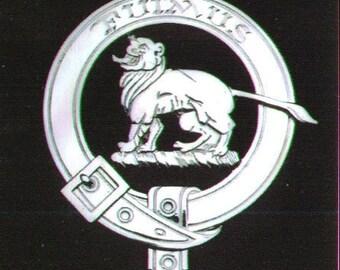 Bruce Scottish Clan Crest Badge
