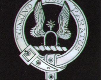 Johnston Scottish Clan Crest Badge
