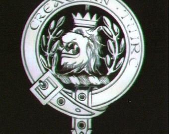 MacLaren Scottish Clan Crest Badge