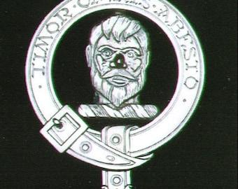 MacNab Scottish Clan Crest Badge