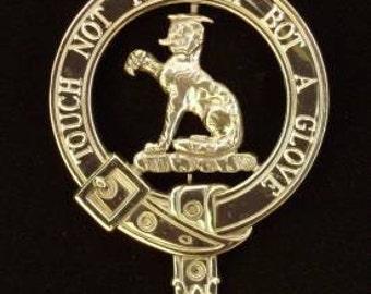 MacPherson Scottish Clan Crest Badge