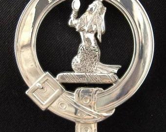 Murray Scottish Clan Crest Badge