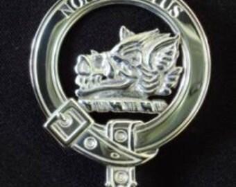 MacTavish Scottish Clan Crest Badge