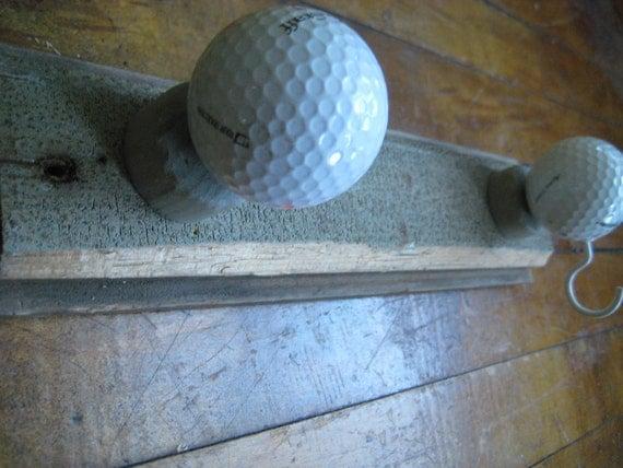 Golf Ball Coat & Key Rack