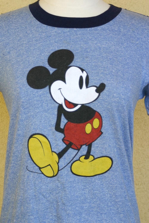 Vintage mickey t shirt