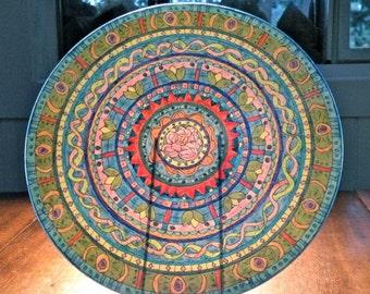 Grace Mandala Platter