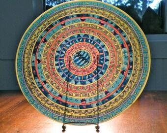 Communication Mandala Platter
