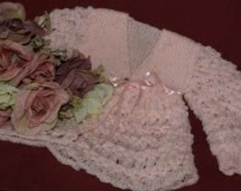 Pink Harebell Lace Sweater