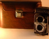 Vintage Camera and Leather Case