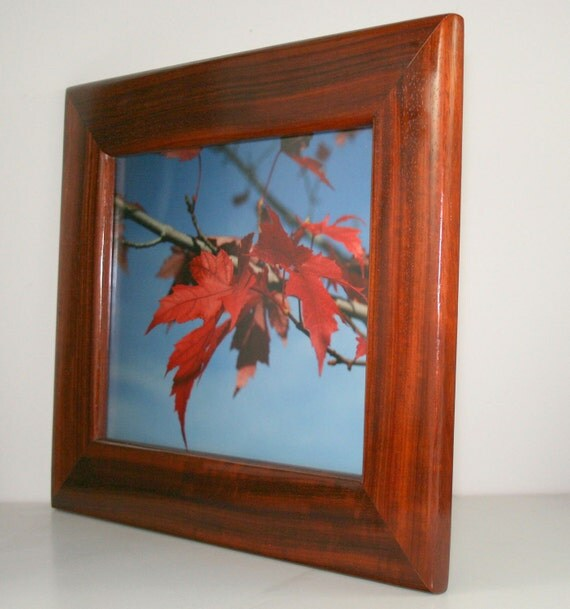 African Padauk Picture Frame Picture Size Is14 Quot X 11