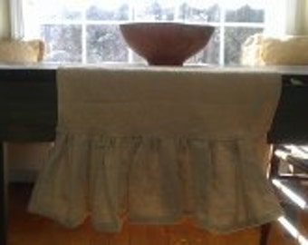 SALE  Rustic Chic Table Runner