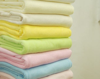 Pastel Color Knit Terry Cloth in 10 Colors per Yard 29278 - 331