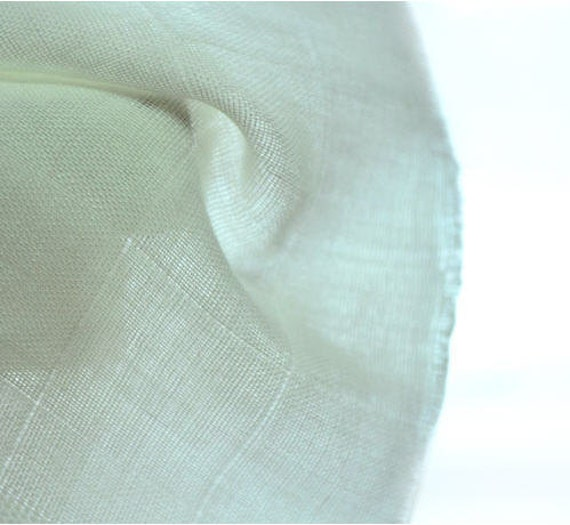 Bamboo Cotton Gauze, Double Layered, for Cloth Diaper and Baby Items - White - By the Yard 12054