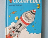 Charlie Browns Cyclopedia - Blast Off To Space Vol 3 Childrens Book
