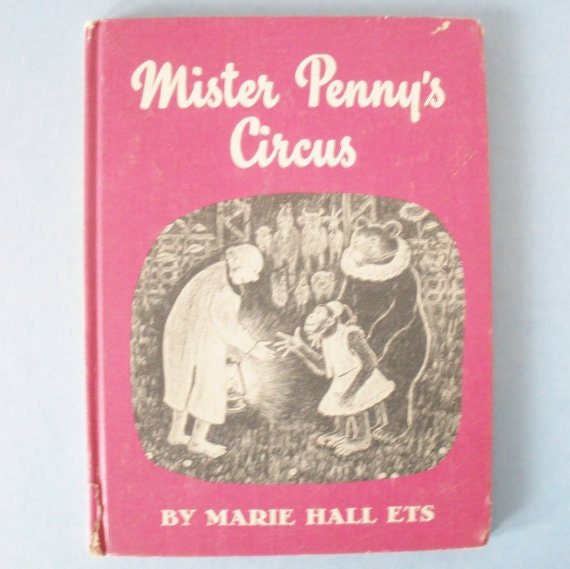 Mister Pennys Circus Childrens Book