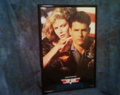 Top Gun 1986 Framed Movie Poster