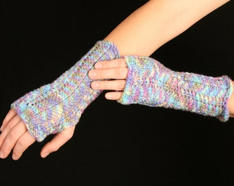 Wrist Warmers Hand Knit Various Colours Christmas Special