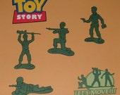 "Cricut Scrapbooking Die Cuts ""Toy STory Army Men"""