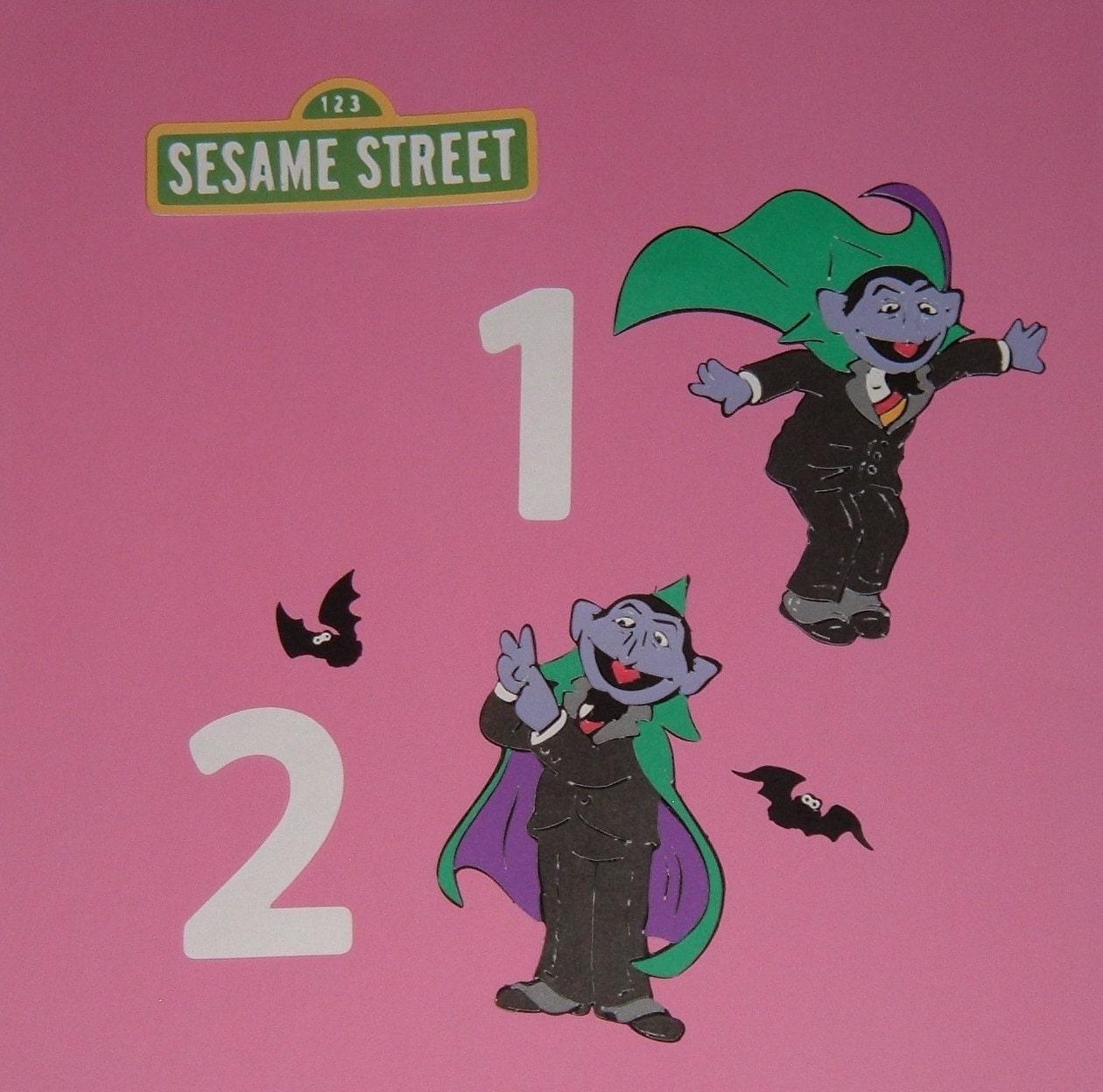 Sesame Street Count Costume Sesame Street Count Von