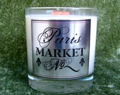 Hand Poured Soy Candle / French Market, 11 oz