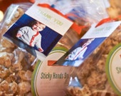 Printable Party favor tag with photo, customizable