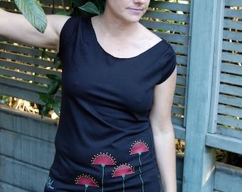 Custom Organic Cotton eco friendly Women's T Shirt Inspired by Nature