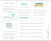 FAVORITES project life modern scrapbooking journaling cards set 2 PDF PNG