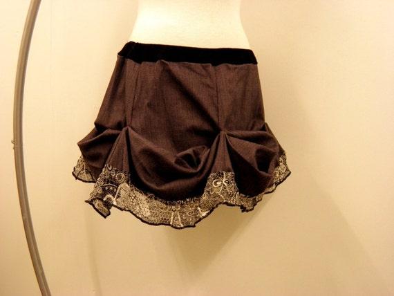 Steampunk Bustle Skirt