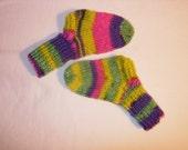 Reserved for Kim - Kids multicolored sock in Reggio yarn