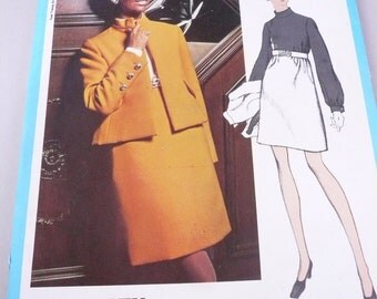 Vintage Vogue Americana Pattern 2260 Dress and Jacket by Teal Traina  Misses Size 16