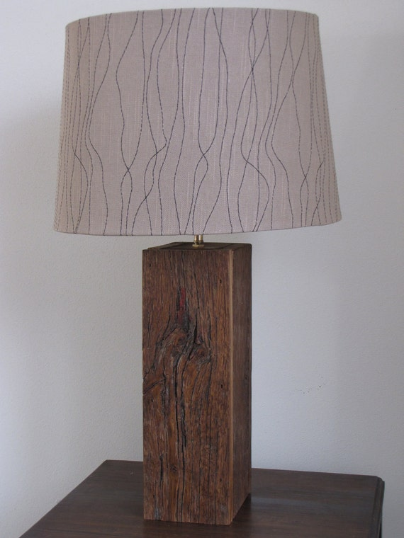 Barn Wood Lamp By Basscreekdesigns On Etsy