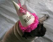 Dog Birthday Hat - Girl