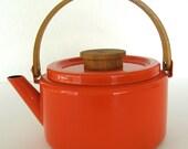 Red Enamel Kettle-Copco-Michael Lax Designs