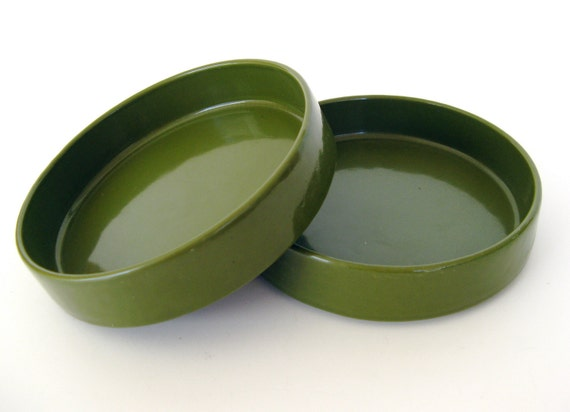 Cast Iron Dishes by Copco of Denmark-Set of 2