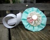 Flower Headband or Hair Clip
