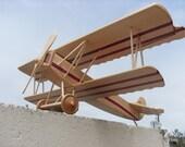 Airplane Wooden Handmade