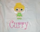 Fairy applique shirt