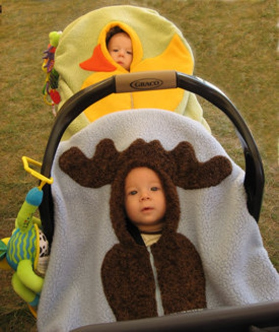 Moose Car Seat Cover