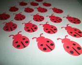25 Ladybugs Die Cuts